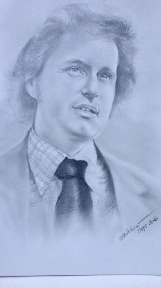 Michael Douglas by Bobchew